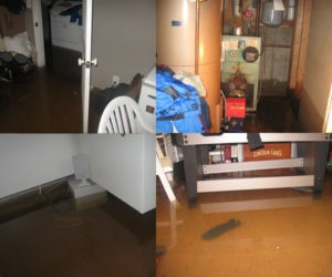 flood damage Westhampton NY